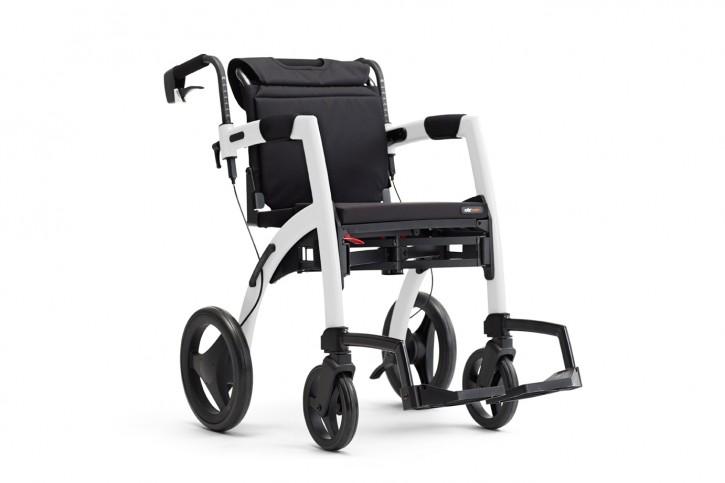 Topro Rollz Motion 2 Rollator und Rollstuhl 2in1 matt black