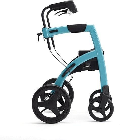 Topro Rollz Motion 2 Rollator und Rollstuhl 2in1 island blue